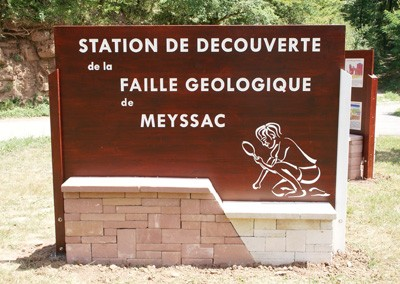 La faille de Meyssac à Collonges-la-Rouge