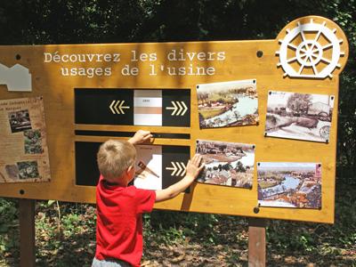 Le sentier d'interprétation de l'Île Marquet