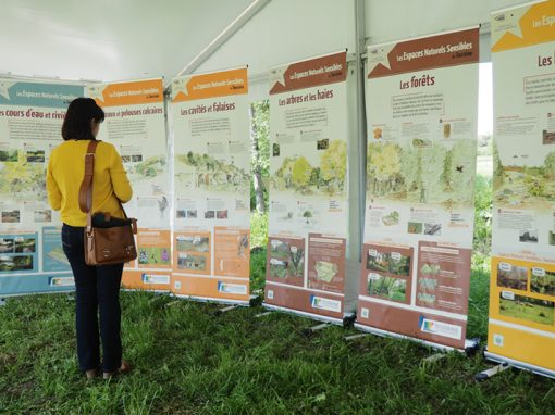 Exposition Espaces Naturels Sensibles d'Indre-et-Loire (37)