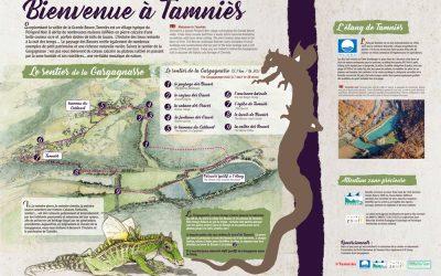 Sentier de la Gargagnasse à Tamniès (24)