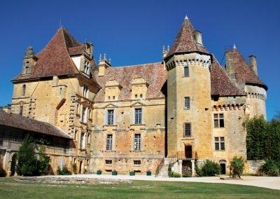 Château de Lanquais -mise en animation saison 2018-