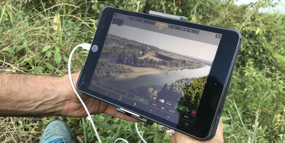 Prestation de vidéo et prise de vue drone en dordogne périgordavec au fil du temps