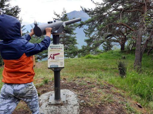 Parcours aventure du Fort du Télégraphe