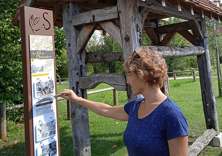 Sentier de découverte à Savignac-les-Églises